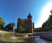 Parc de la Ciutadella - Chateau des trois dragons