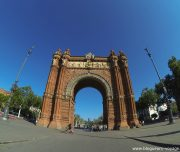 Parc de la Ciutadella - Arche de triophe