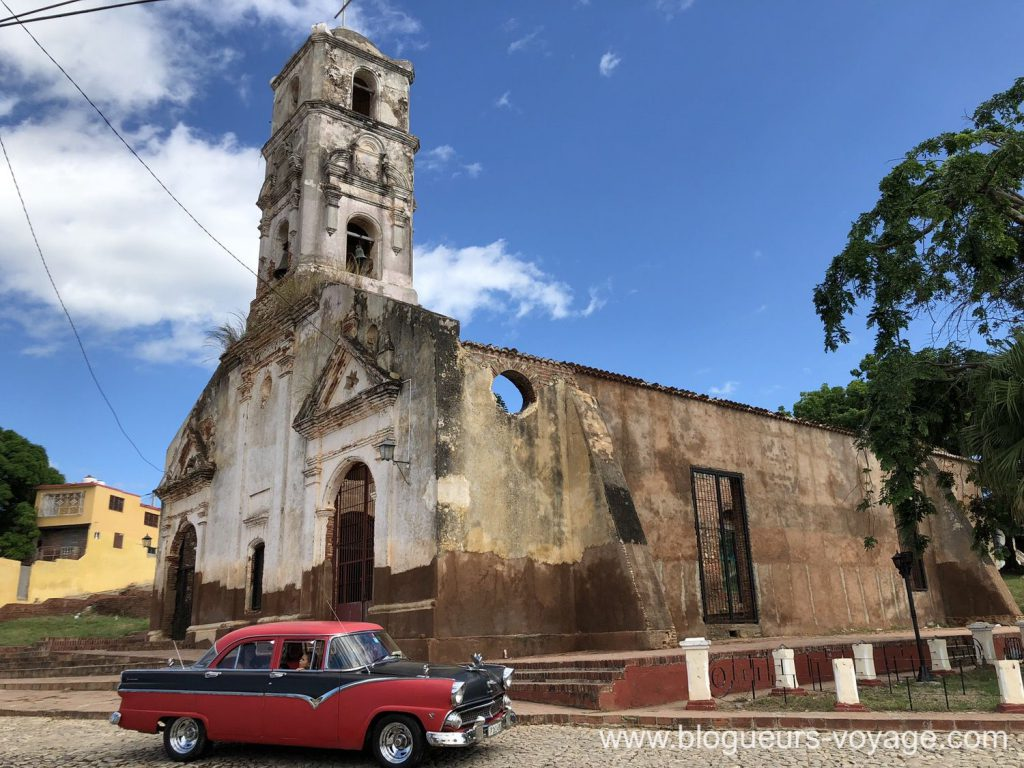 Eglise Santa Ana de Trinidad
