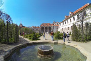 Jardin baroque de Wallenstein