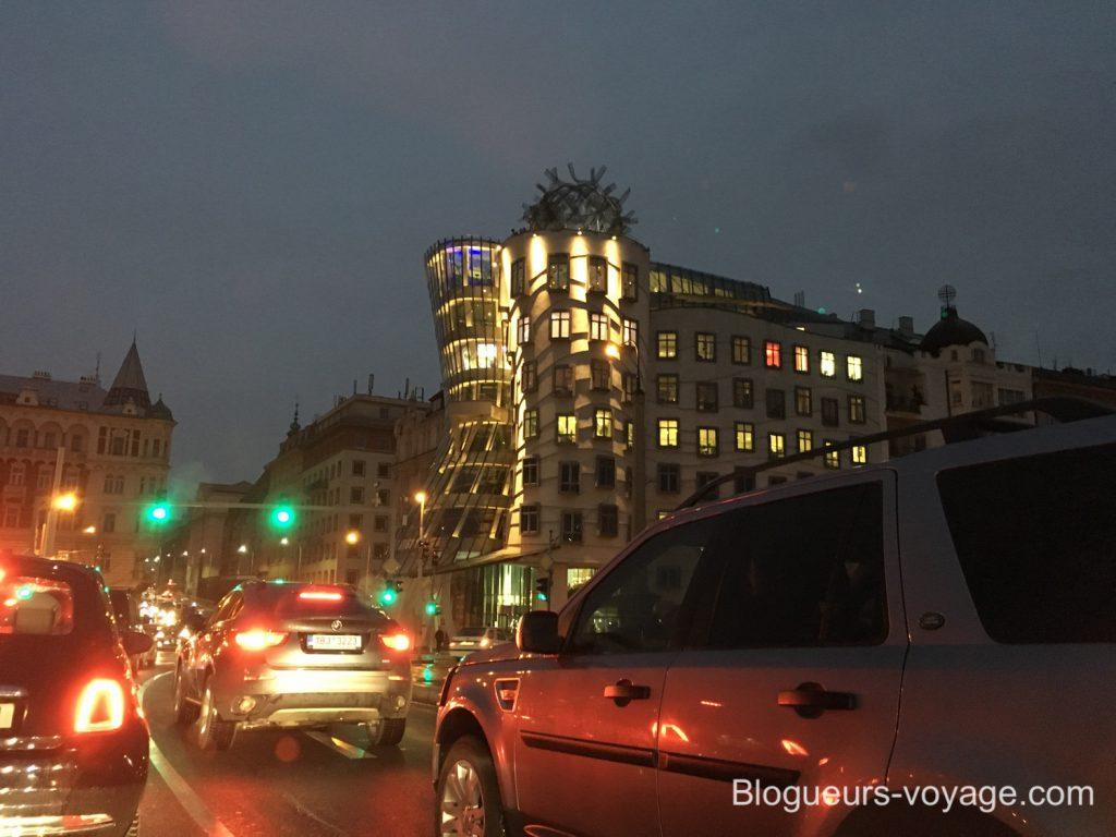 La maison qui Danse à Prague