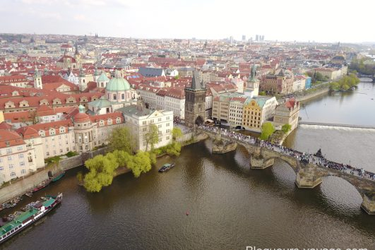 Pont Charles à Prague. Blog Voyage