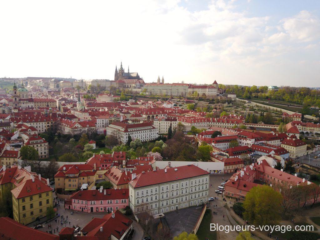 Chateau de Prague - Blog voyage
