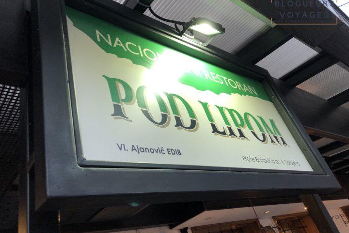 Restaurant Pod Lipom Sarajevo