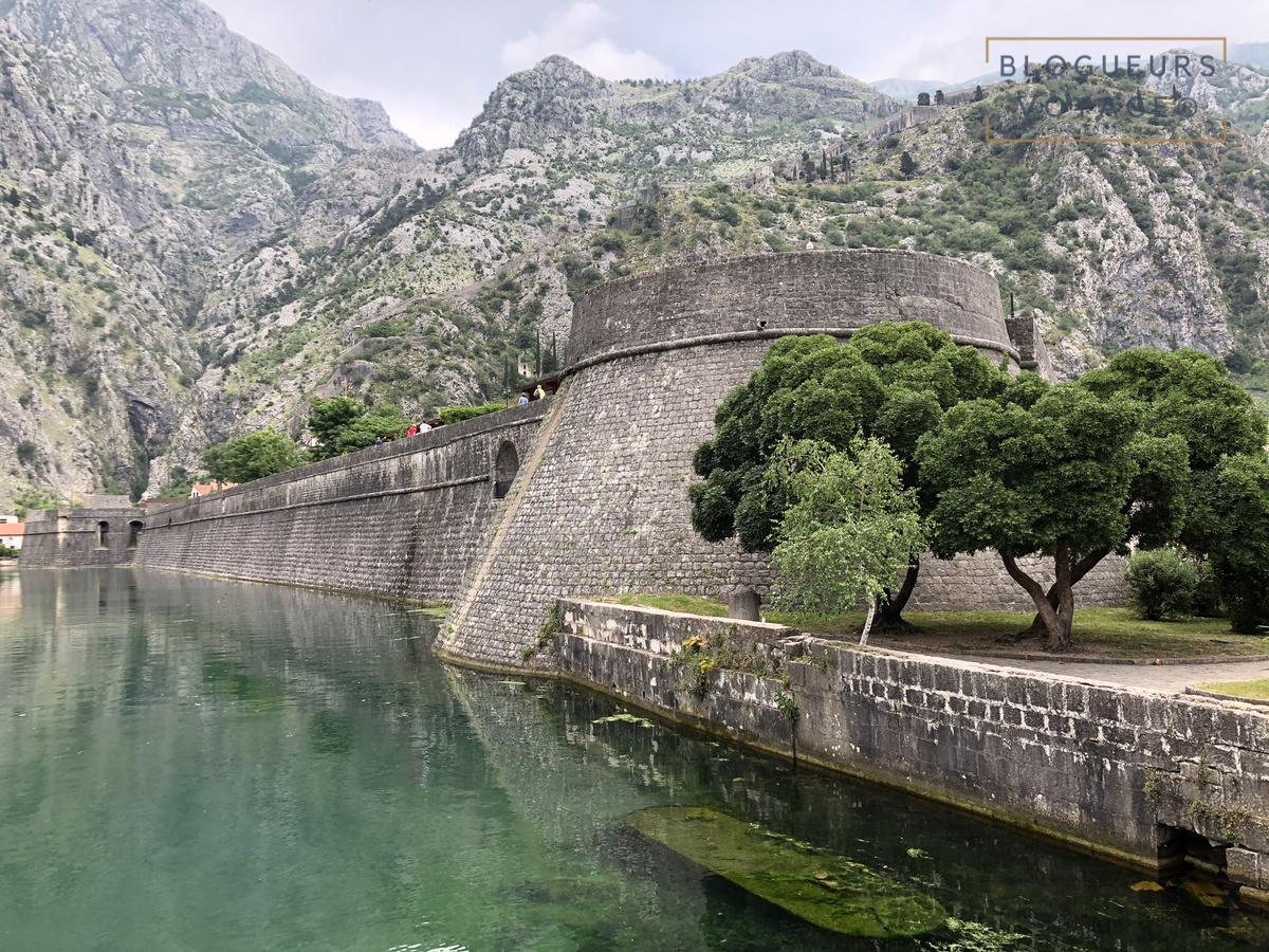 Ville de Kotor au Monténégro