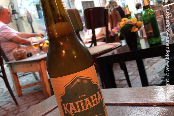 La bière du même nom que le quartier ;) Kapana
