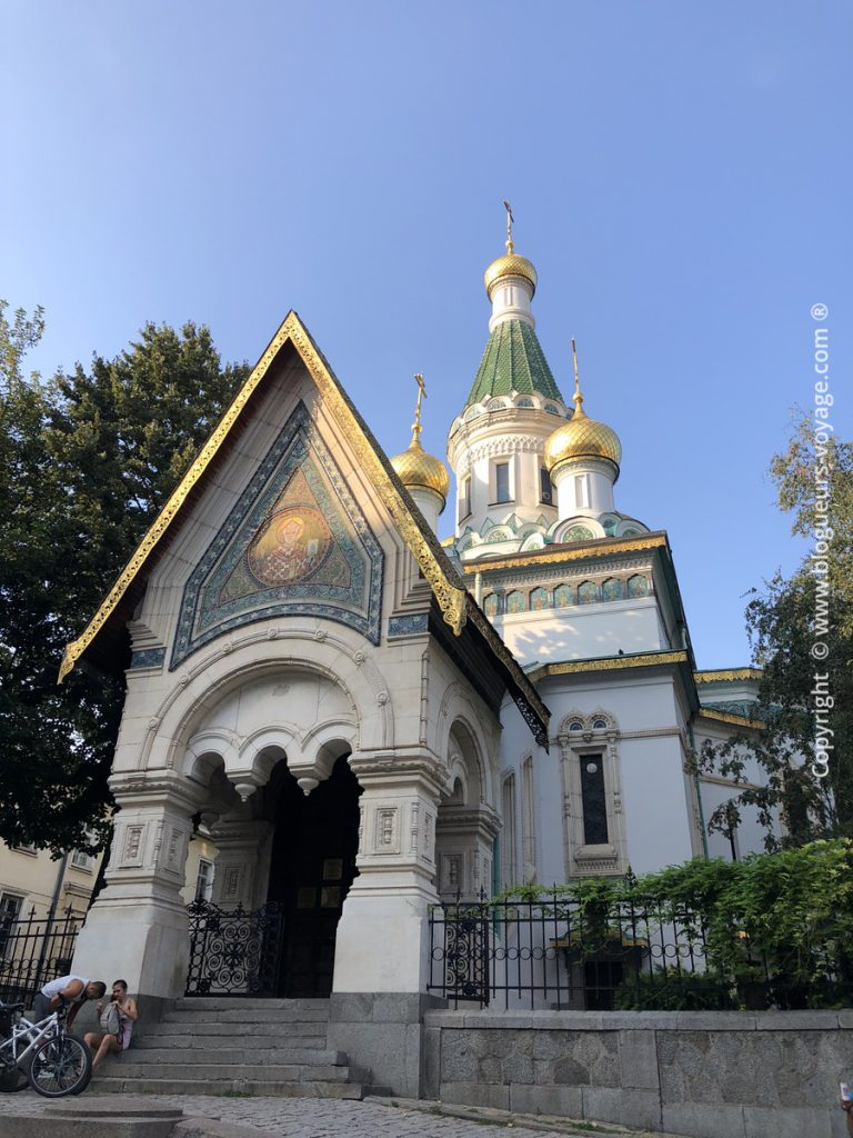 Eglise Russe de Sofia en Bulgarie