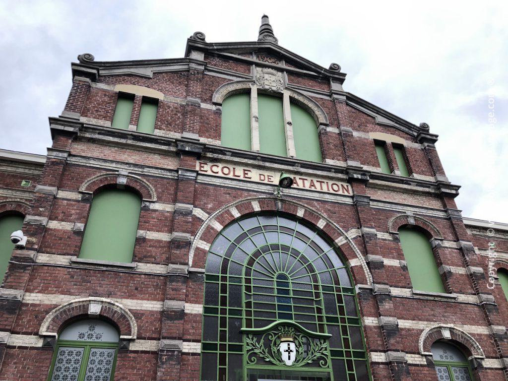 Piscine de Tourcoing devenue l'annexe de l'Institut du Monde Arabe